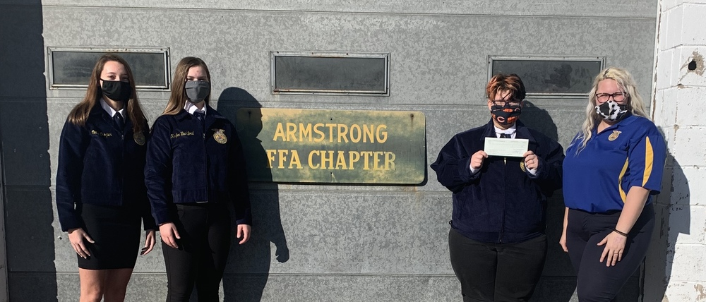FFA Chapter Receives Donation