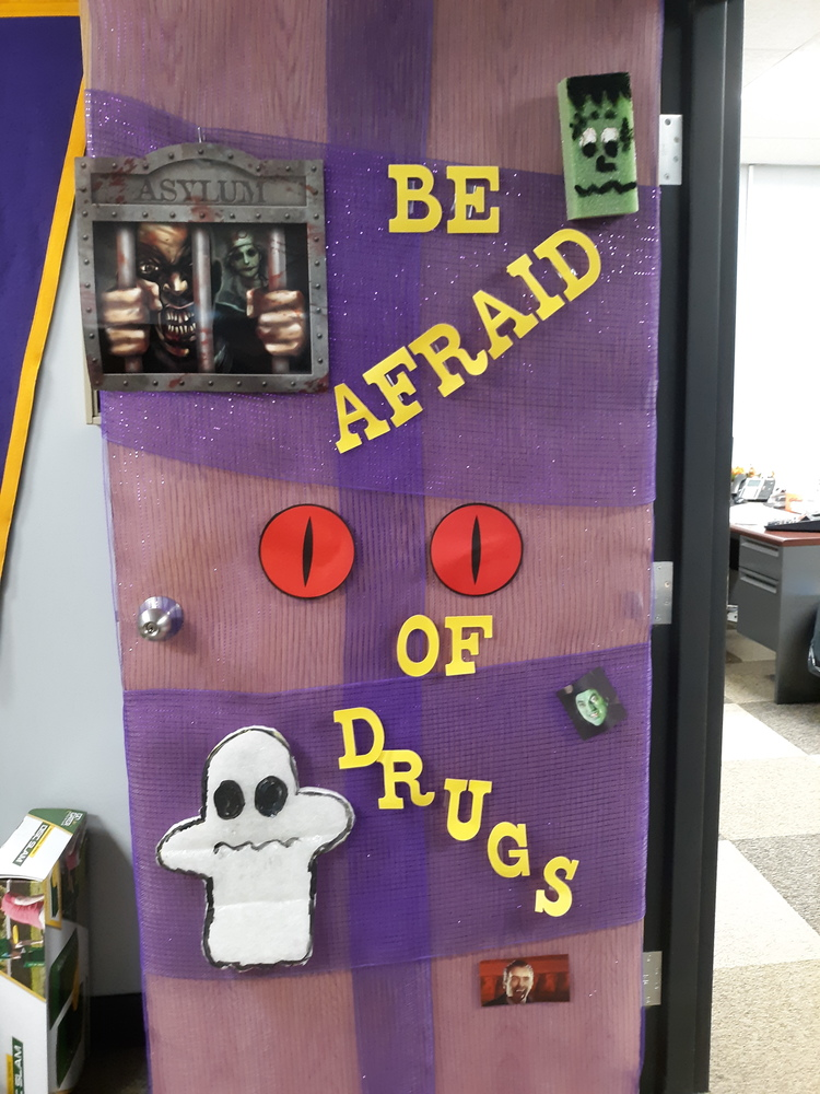 Door Decorating for Red Ribbon Week